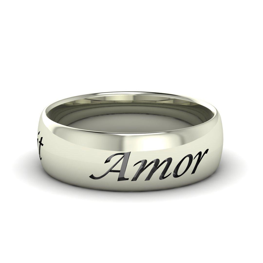 Кольцо Amor Omnia Vincit