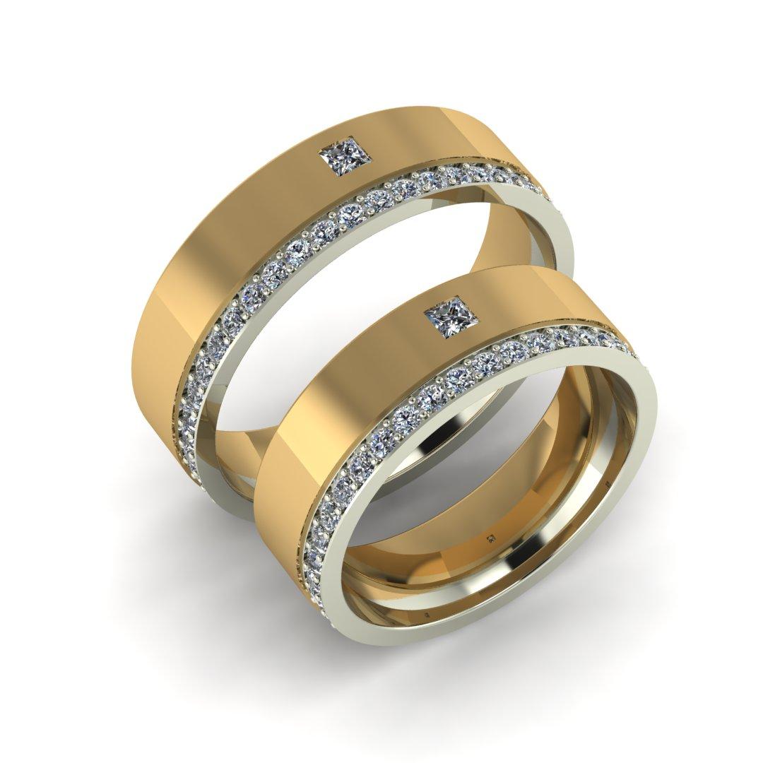 Обручальные кольца Принцесса