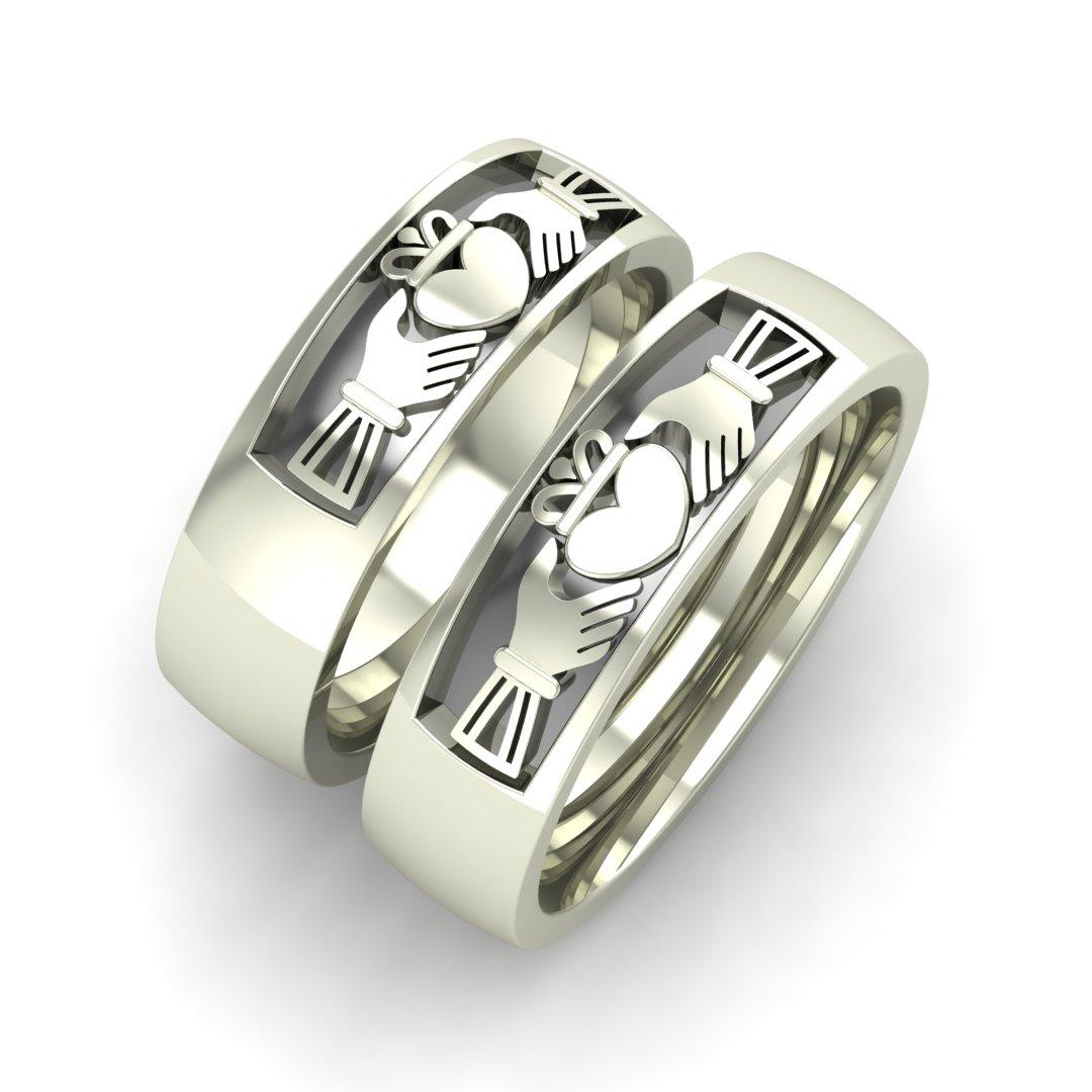 Обручальные кольца Кладдахские