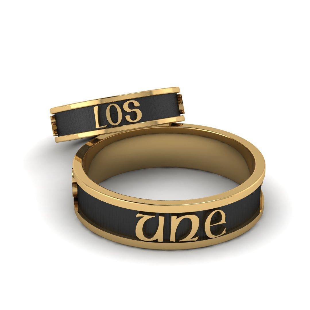 Обручальные кольца AMOR LOS UNE