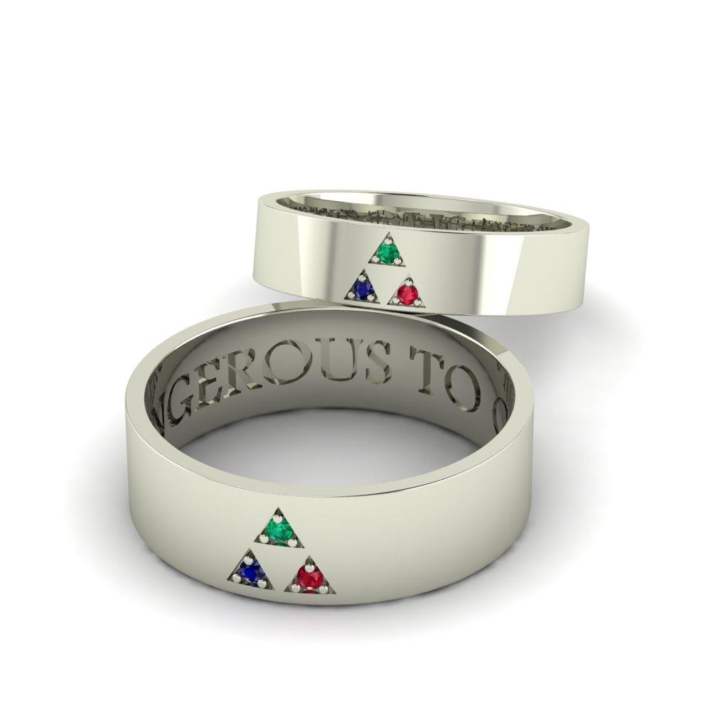 Обручальные кольца Тригон