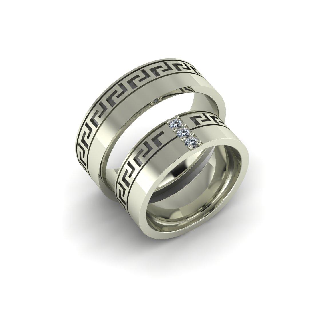 Обручальные кольца Греческие