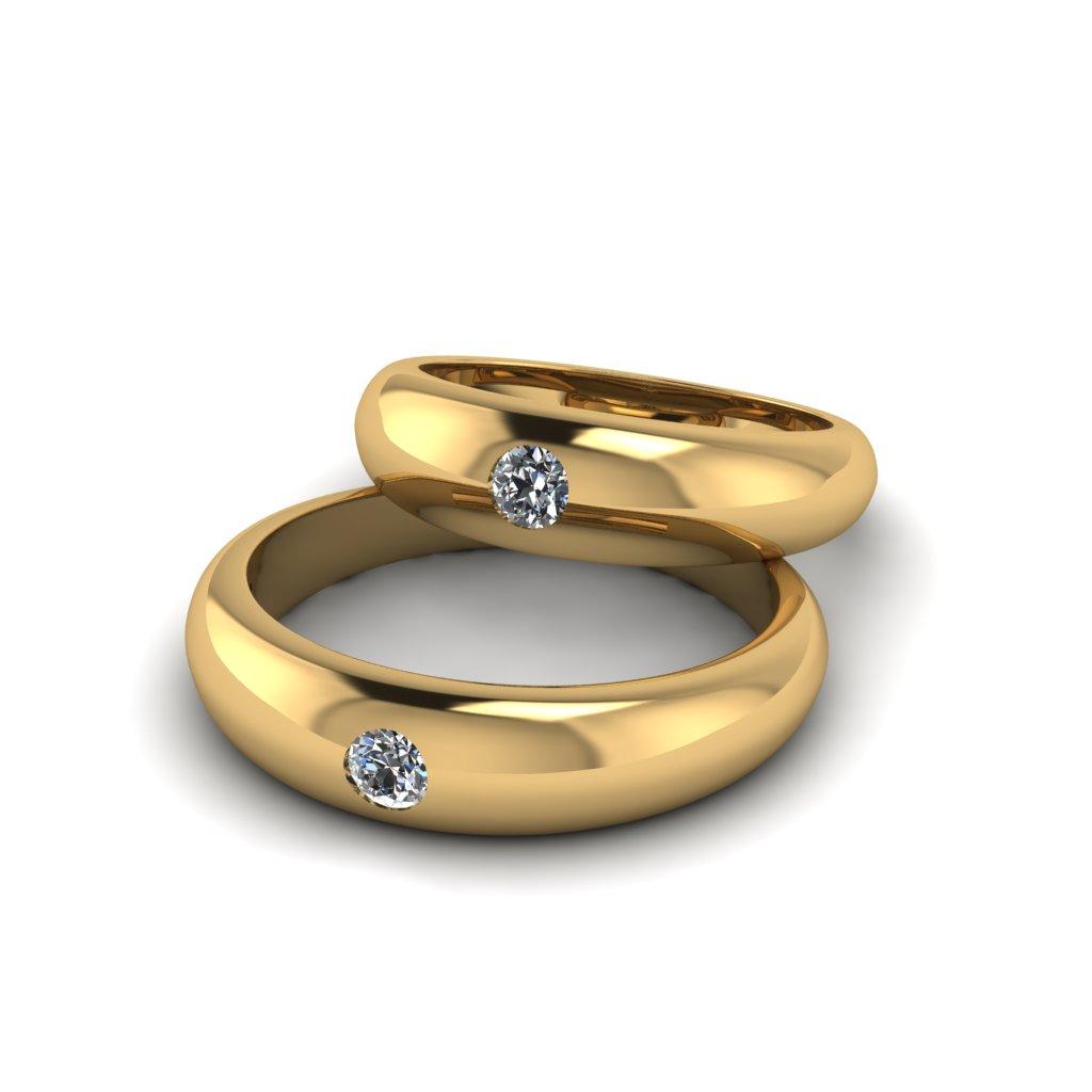 Обручальные кольца Дутень