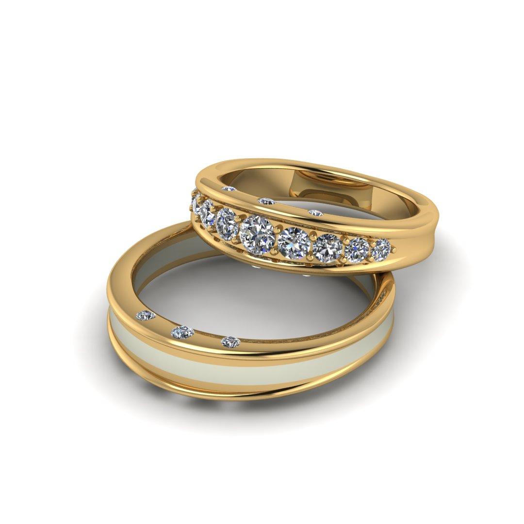 Обручальные кольца Звездный путь