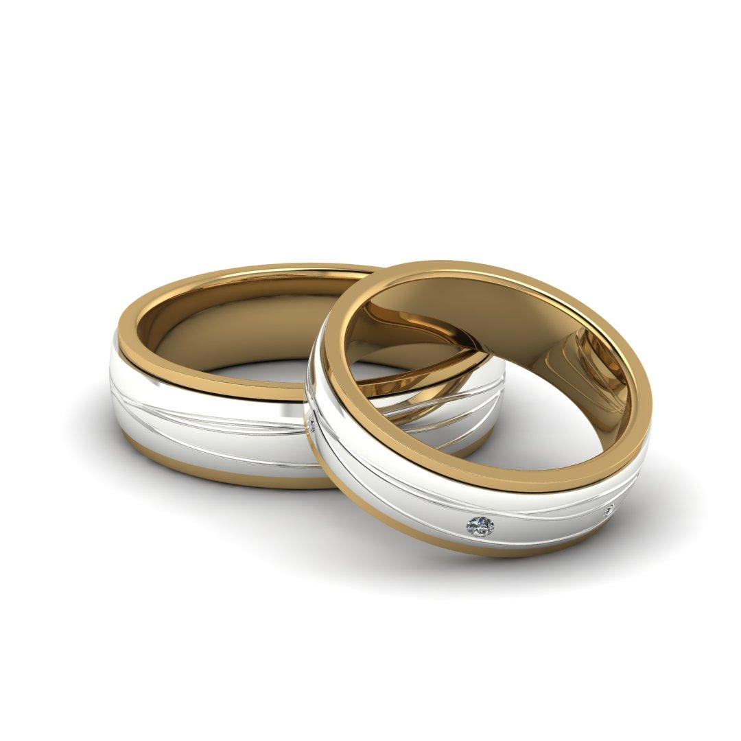 Обручальные кольца Линии Судьбы