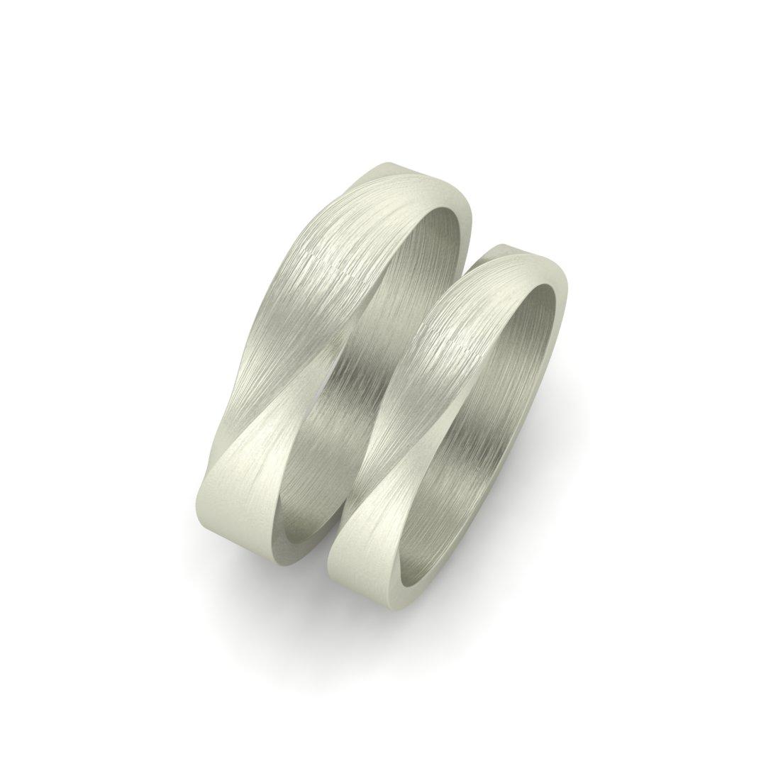 обручальные кольца закрученные